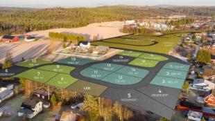 NORDKISA / ULLENSAKER // Byggeklar tomt på hele 763m2 / 35% BYA / Nærhet til barnehage og skole / Attraktivt område