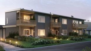 Kisamoen- Nordkisa  // 2 igjen! Nye, moderne 2-roms leiligheter på 59 kvm. med terrasser / balkonger og carporter. Nær butikk og bussholdeplass.