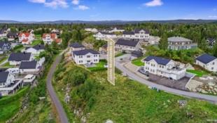 Nannestad//Eltonåsen: byggeklar tomt for enebolig // nært marka, skoler og barnehage