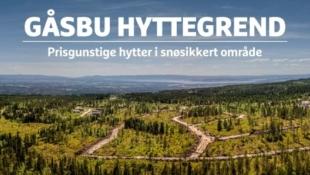 Gåsbu hyttegrend -Prisgunstige og solrike selveiertomter i snøsikkert område, 1,5 t fra Oslo - Priser fra kr 350 000,-.