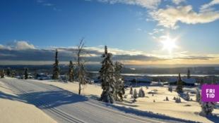 VISNINGSKAMPANJE VERDI 100.000 KR!  Sjusjøens flotteste utsiktstomter i Birkebeinerbakken Panorama. Langrennski in/out