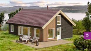 Hytte på Sjusjøen - Birkenhytta Storåsen - familiehytte med 4 sov, romslig hems på hele 43m2! Nøkkelferdig på solrik tomt, ski in/out langrenn