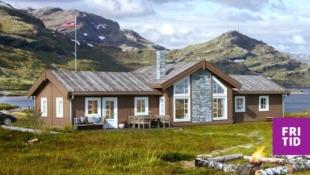 Nøkkelferdig familiehytte med 2 stuer, 3 sov, 2 bad. Solrikt og flott beliggende i Birkebeineren Panorama, Sjusjøen. Tomt, grav og betong inkl. i pris!
