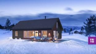 KUN 3 TOMTER IGJEN I SJUSJØLIA - Birkenhytta Storåsen rommer 4 sov og hems på 43m2. Ski in/out