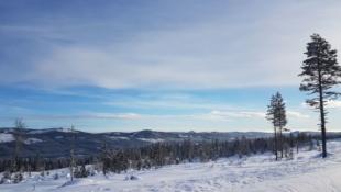 Utsiktstomt sentralt i Trysilfjellet sør - Mosetra 2. Nær alpinbakken og langrennsløypene