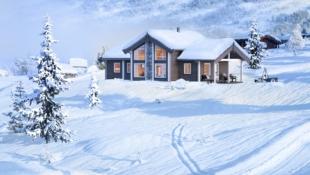 FANTASTISK fin familiehytte i sentrum av Norges nasjonalparker.