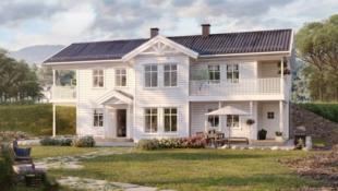 Innholdsrik enebolig med leilighet i rolige omgivelser på Jørstadmoen.
