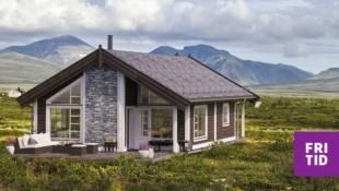 Sportshytte med romslig hems på stor, solrik tomt  i Lillehammerfjellet. Langrennski in/out! Tomt, grav og betong inkl. i pris