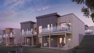 KAMPANJE! Moderne enebolig i rekke - 4 sov, 2 bad, vaskerom, walk-in closet, garasje! Sentralt beliggende på  Røyslimoen