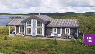 Sosial familiehytte på Nordseter! 4 sov, hems. Stor solrik tomt. Tomt, grav og betong inkl. Ski in/out!
