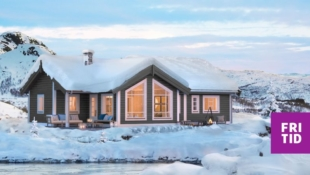 Romslig familiehytte med 3 sov og hems. Fint beliggende på stor, solrik tomt på Skei. Langrennski in/out. Nøkkelferdig!