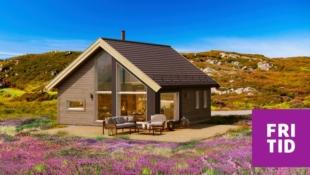Birkenhytta Skramstad -4 sengeplasser i en arealeffektiv hytte m/hems på 10m2. Nøkkelferdig på solrik tomt på Skei. Ski in/out langrenn!