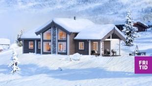 Nøkkelferdig familiehytte med 3 sov. Solrik selveiertomt  ved Skeikampen! Kort vei til alpinanlegg og skiløyper.