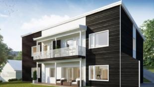 Bygging igangsatt! 1 solgt! Solgård - Ny, moderne leilighet - Alt på èn flate - Carport - Sentralt beliggende i rolig strøk