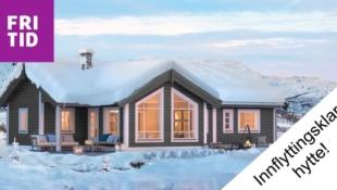 Ny innflytningsklar hytte ved Spåtind!  Flott utsikt og lang solgang.  Skiløyper og alpinbakke rett  ved hytta.