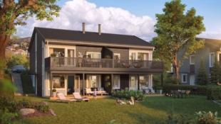 Visning 24/10 kl 1600-1630! Heggenes - Moderne og arealeffektiv tomannsbolig med 4 soverom og flott utsikt!