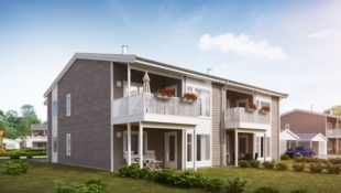 2 leiligheter solgt! Moderne leiligheter med 3 soverom, bod og carport oppføres i Golbergsgutu.