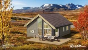 GOL/BJØDNALIE - Moderne og praktisk hytte, med gode løsninger og hems fint bel. med vid utsikt og gode solforhold. Ca 20 min. fra Gol sentrum/tog