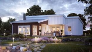 Moderne enebolig på ett plan. Stor og romslig boligtomt. Perfekt for barnefamilier - Barkåker Hage