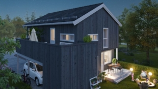 Lånekost kun 7.085/mnd!* Moderne enebolig med carport og takterrasse, sentralt på Myra/ Flodda.