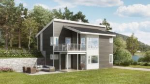 Ny prosjektert enebolig på Lunderhaug Terrasse