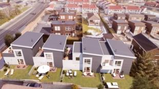 Kleppe sentrum | 3 ledige rekkehus | prosjektet er igangsatt