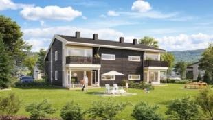 Kjekke leiligheter på Fagervolltunet-3 soverom og alt du trenger på et plan! Bo for kun kr. 1.709,- pr. mnd. med Husbank