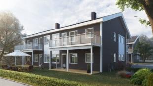 1 LEDIG - IGANGSATT BYGGING!! Stokkereitane, Ellingsøy - Nøkkelferdige leiligheter i firemannsbolig