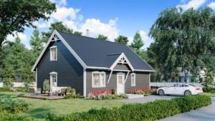 Nøkkelferdig einebustad nært sjøen i vakre Håvika i Tjørvåg!  Lånekostnad fra 6 079,-/mnd!*