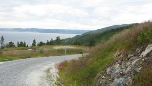 Flott utsiktstomt på Geitastranda i Orkdal