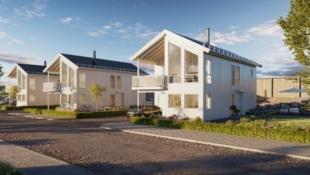 BØRSA | Nøkkelferdige boliger ved sjøen | 3 soverom | 2 bad | Integrert garasje | Sentral beliggenhet