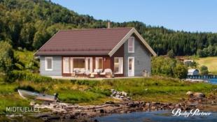 Høgevarde- Birkenhytta Midtfjellet- med gulvareal på 108m2, romslig hems og 3 sov