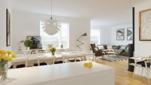Nye leiligheter på Granrudtunet, Øyer sentrum. Solrikt, ett plan, 2/3 sov