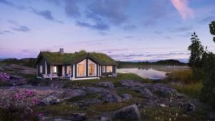 Tollefsrudsetra - Familievennlig hytte i rolige omgivelser - 3 soverom - Hems - Utsikt