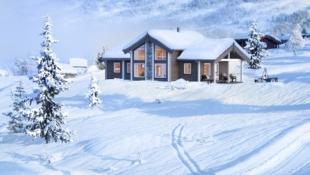 Turufjell – et nytt og spennende område. Prosjektert hytte MIDTHØ på flott tomt nær baseområdet og kommende skitrekk
