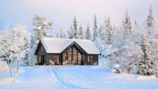 Høgevarde/Flå - NY hyttemodell Nysetra prosjektert Felt 15, Gode solforhold og fin utsikt.