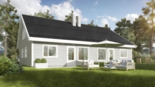 Nøkkelferdig tomannsbolig med 4 soverom og 2 bad i Åsbygda