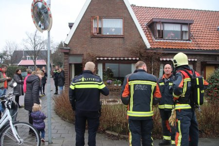 Gebouwbrand Menneweg Sassenheim