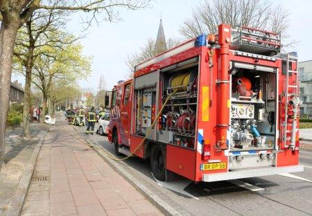 Brandgerucht Parklaan Sassenhem