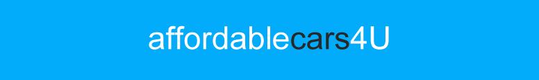 Affordable Cars 4 U