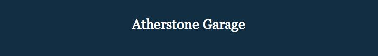 Atherstone Garage