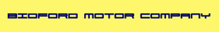 Bidford Motor Company logo