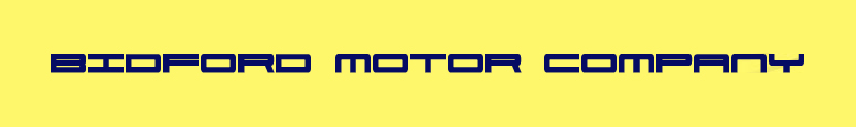 Bidford Motor Company