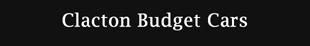 Essex Budget Cars logo