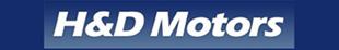 H & D Motors logo