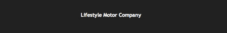 Lifestyle Motor Company