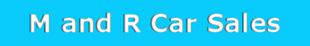 M and R Car Sales logo