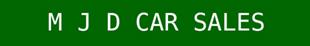 M J D Car Sales logo