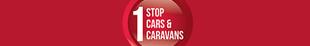 1 Stop Cars & Caravans logo