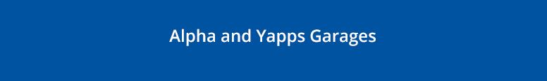 Alpha & Yapps Garages